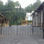Кованые ворота, ограждения и калитки