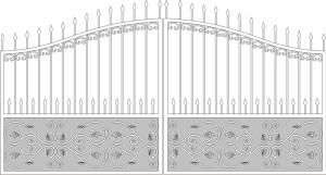 Эскизы кованных ворот