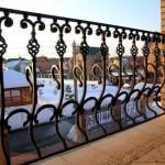 Кованый балкон и эскизы
