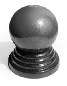 Заглушка (навершие) с шаром д. 76