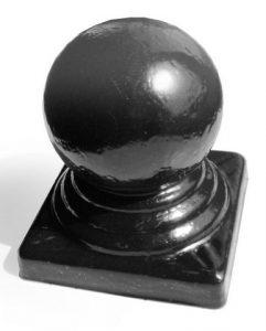 Заглушка (навершие) с шаром 25*25