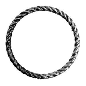 Кольцо из витой трубы d16 d140