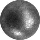 Шар полнотелый кованый д.40 мм